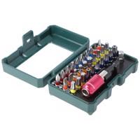 """Original Metabo Bit-Box, Bit-Set """"SP"""", 32-teilig 6.26700 inklusive magnetischer Schnellwechseladapter und Bithalter 65mm Produktfoto"""