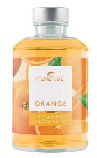 LaNature Orange Schaumbad 250ml Produktfoto