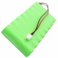 Akku passend für Visonic Powermax. Pro Akku 0-9912-G, 103-300672, GP180AAH8BMX NiMH, 9,6V, 1800mAh, 17,3Wh Produktfoto